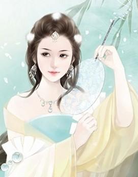 古装美女图片 手绘 宫廷